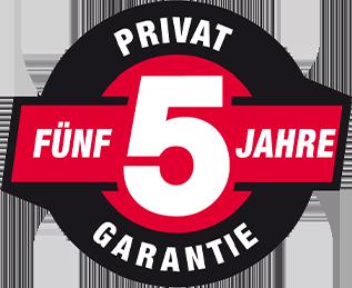 Shindaiwa Garantie 5 Jahre
